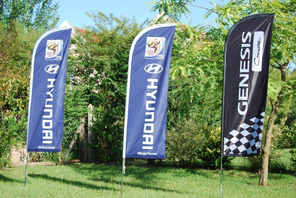 Fly banners Hyndai 3 modelos