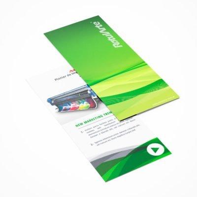 Impresión Flyer doble faz