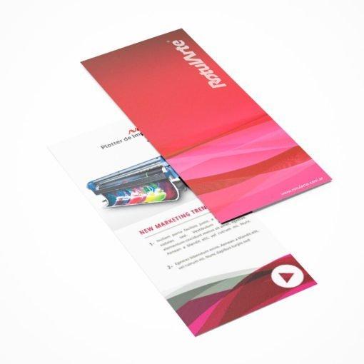 Impresión de folleto Flyer