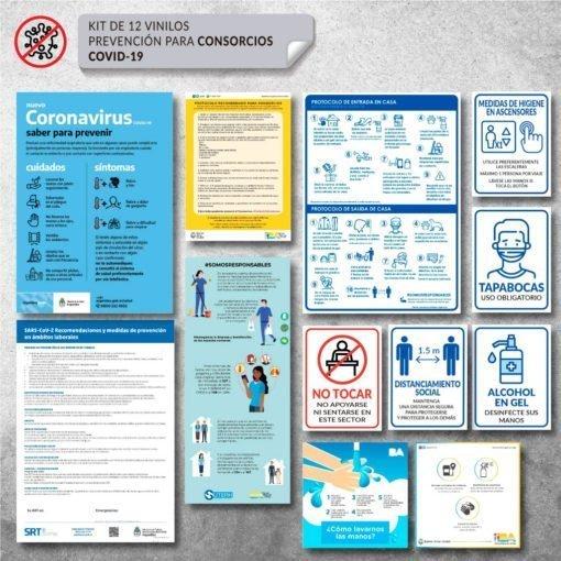 Kit de Vinilo de Señalización para Consorcios