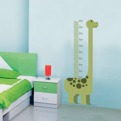 Medidor infantil de Dinosaurio - 140 cm