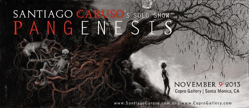 Pangenesis ilustrador Santiago Caruso