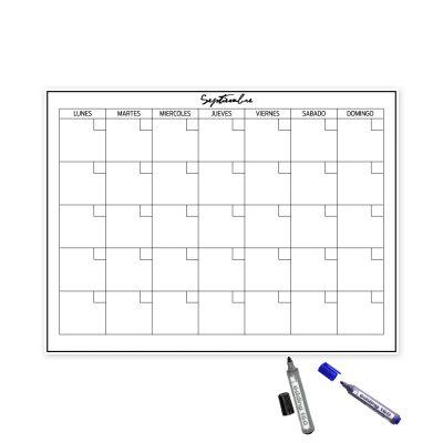 Planificador mensual Autoadhesivo