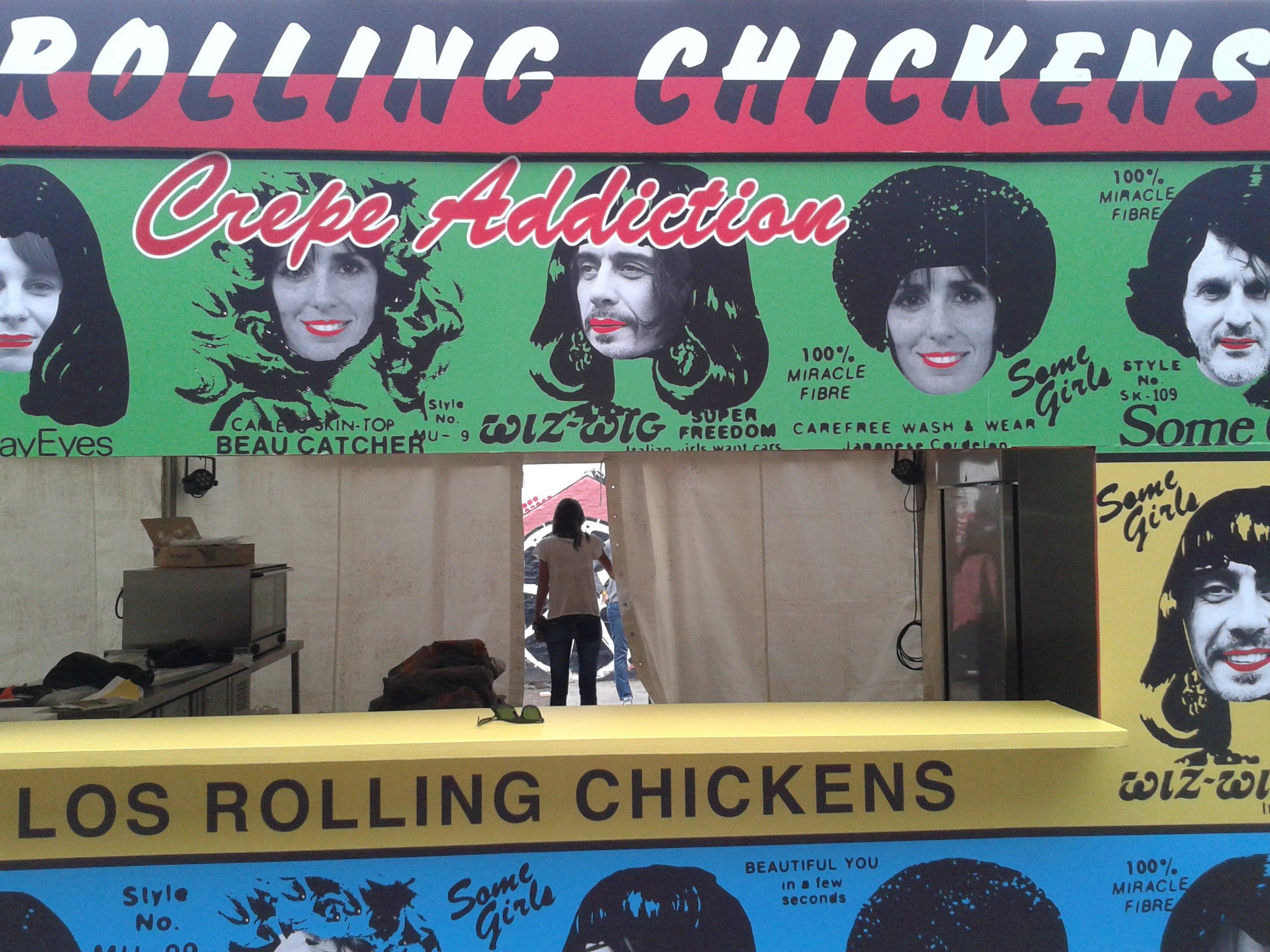Stand feria Masticar - Rolling Chicken