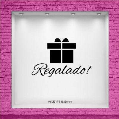 Vinilo Regalado!