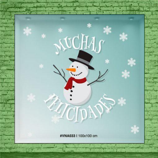 Muñeco de nieve - Navidad