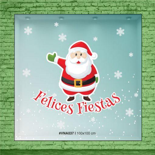 Papá Noel nos desea Felices Fiestas