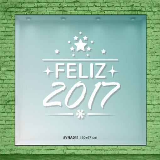 Feliz 2017 - Estrellado