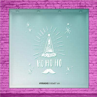 Ho-Ho-Ho Bonete mas Bigotes de Navidad