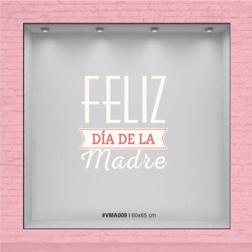 Vinilo para vidrieras - Feliz dí de la Madre