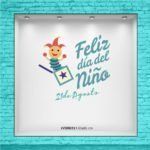 Jack in the Box - Vinilo para vidriera - Día del Niño