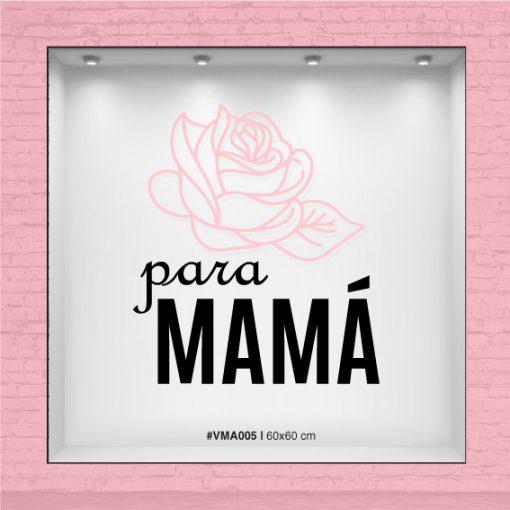 Flor para Mamá - Vinilo día de la Madre