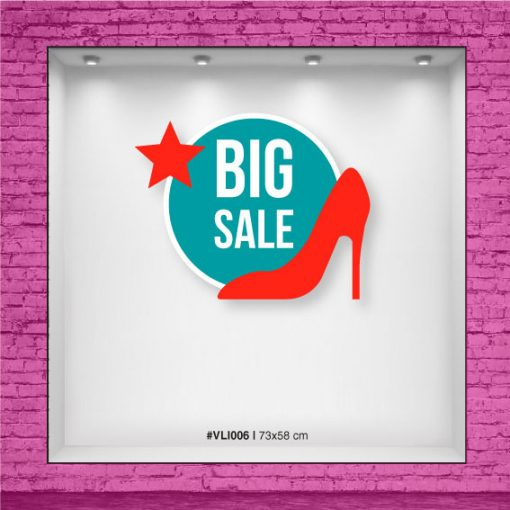 Ploteo para vidriera - Big Sale