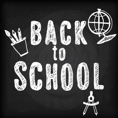 Letras autoadhesivas - Back to School