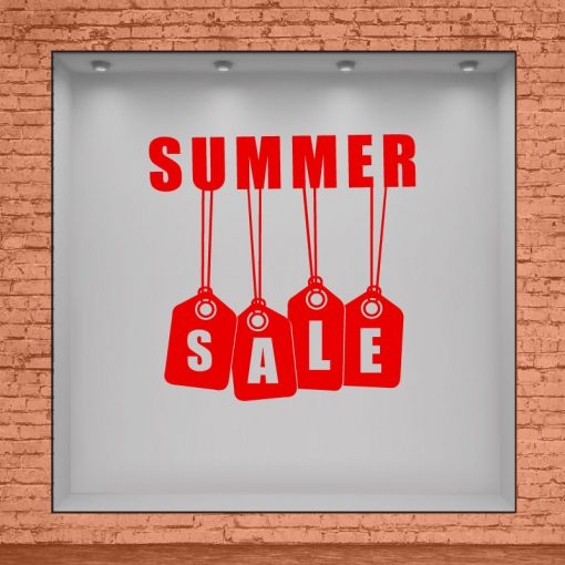 Summer Sale con Tags