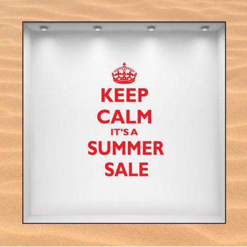 Keep Calm It´s a Summer Sale