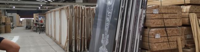 Bastidores embalados en fábrica - Aldo Sessa - CCK