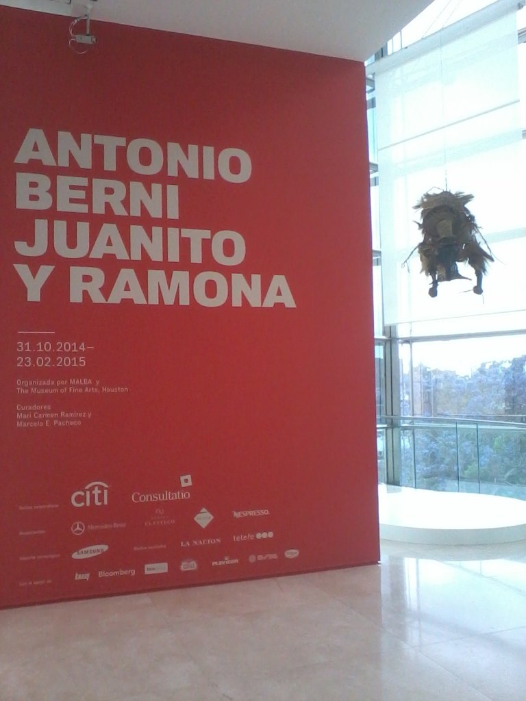 Antonio Berni - Muestra Malba - Sponsors