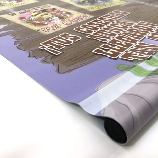 Banner en lona mate para Portabanner de 90x190 cm