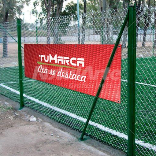 Banner para cancha en lona con ojales