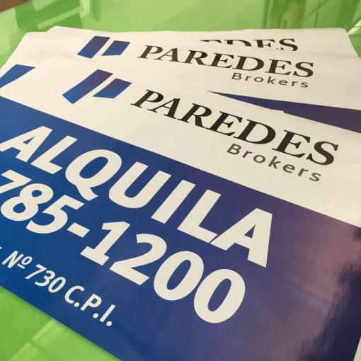 Calcos para carteles de inmobiliarias