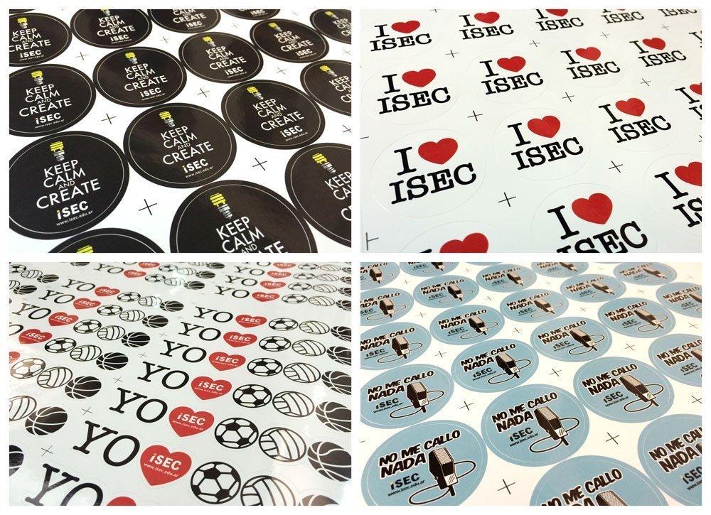 Caclos - calcomanias - stickers como elemento publicitariode marketing promocional