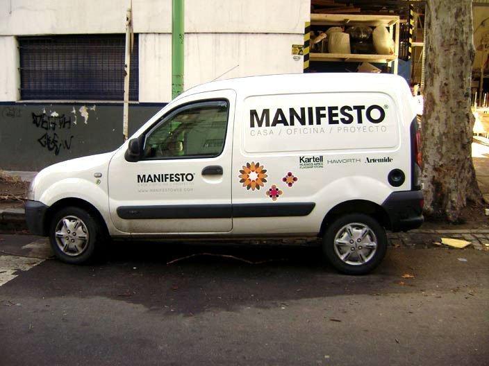 Ploteo vehicular - Manifesto