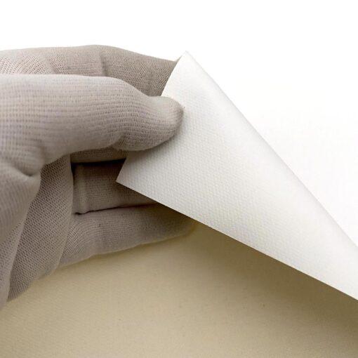 Textura real del canvas CANSON 385 g/m2