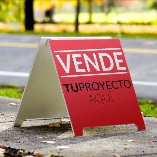 Cartel tipo Caballete - Proyectos Inmobiliarios