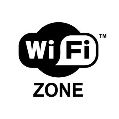 Cartel Wi Fi Zone