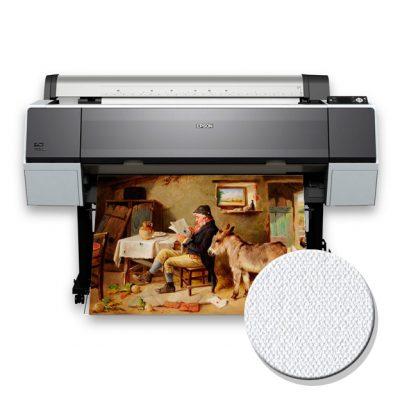 Copia fotografica impresa en canvas fine art 100% algodon