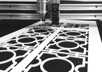 Corte de Foam-Board con cuchilla oscilante