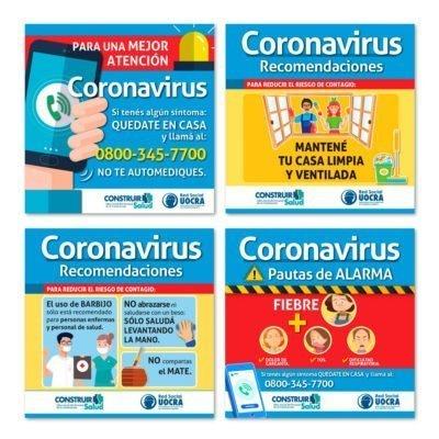 Protocolo de Recomendaciones Practicas - UOCRA - Covid19 - Coronavirus