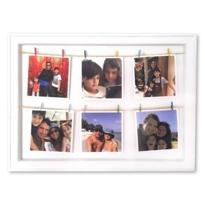 Cuadro Fotos Colgante Personalizado - Tela Canvas