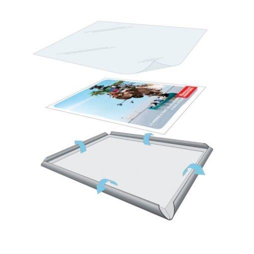 Display Publicitario - Aluminio - Snap Frame