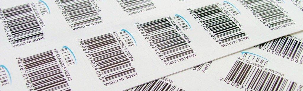 impresion de etiquetas de códigos de barras personalizadas y troqueladas