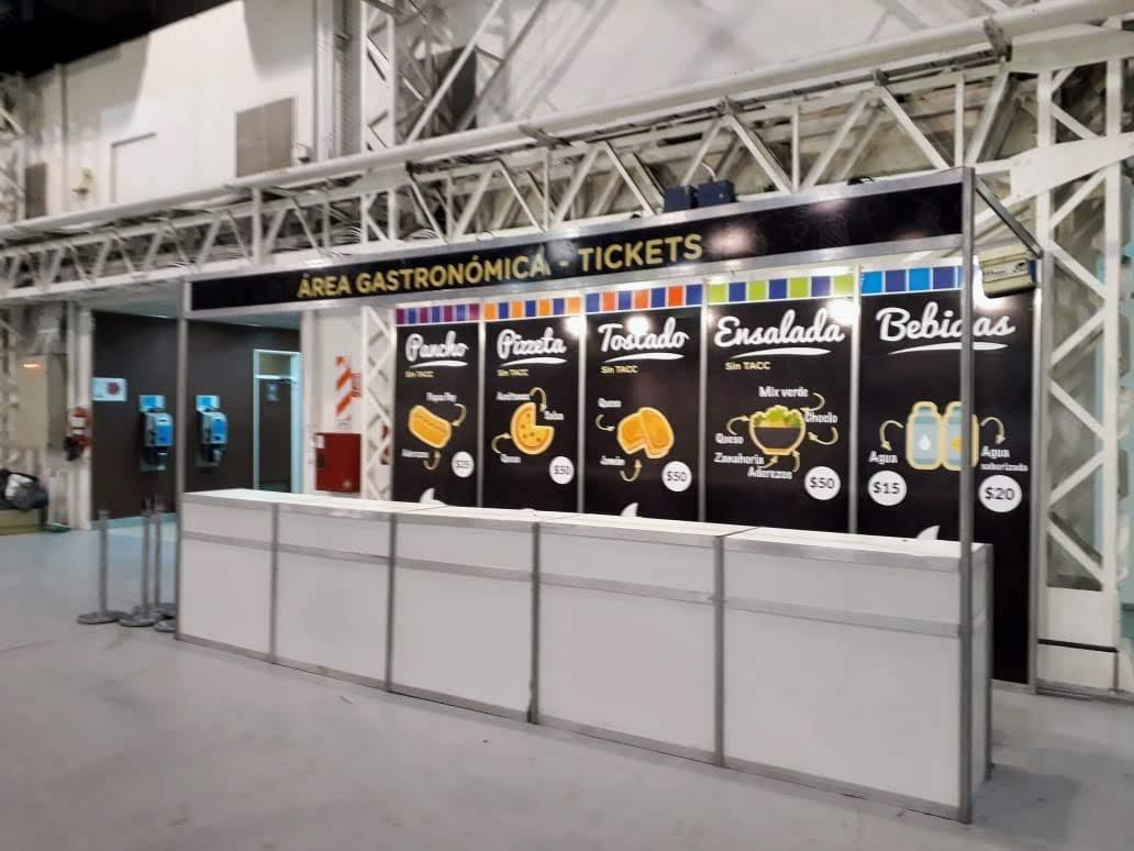 Expocelíaca 2018 - Sector comidas