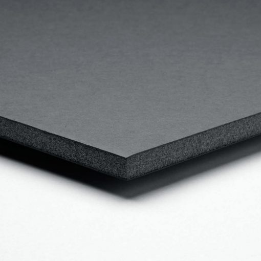 Montaje en Foam Board negro de 5 mm