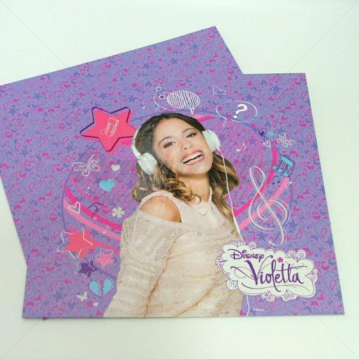 Folleto Violetta - impreso sistema digital