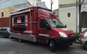 Food Truck - Impresión laminada en vinilo full color