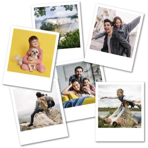 Foto imanes polaroid para Heladera