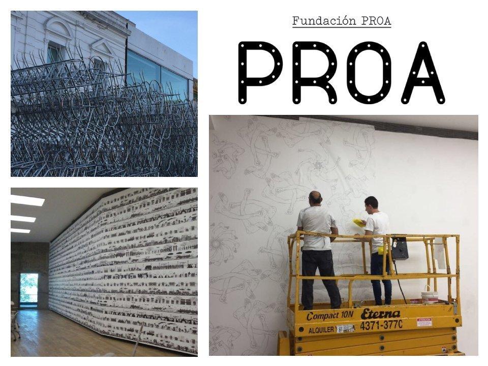 Incoulacion de Ai Weiwei - Fundación Proa