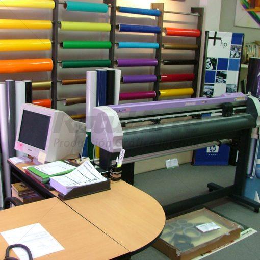 Plotter Mimaki 120 cm de ancho - Amplia variedad de stock de colores de vinilos