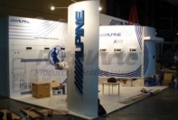 Stand Alpine en predio Rural