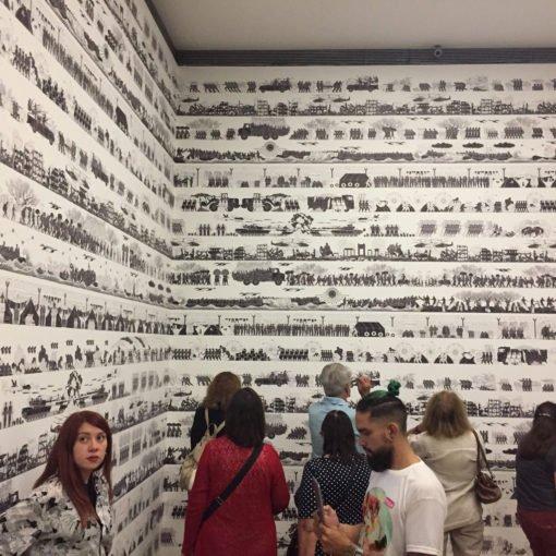 Impresión empapelado personalizado - Proa - Ai Weiwei
