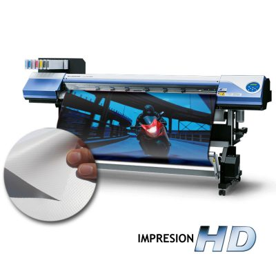 Impresion lona backlight por metro