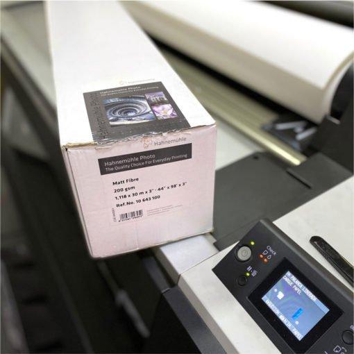 Impresión en papel Hahnemühle
