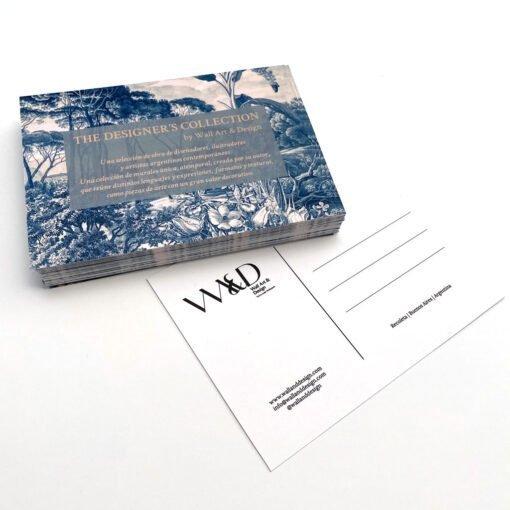 Impresión de Postales Publicitarias - Imprenta Rápida