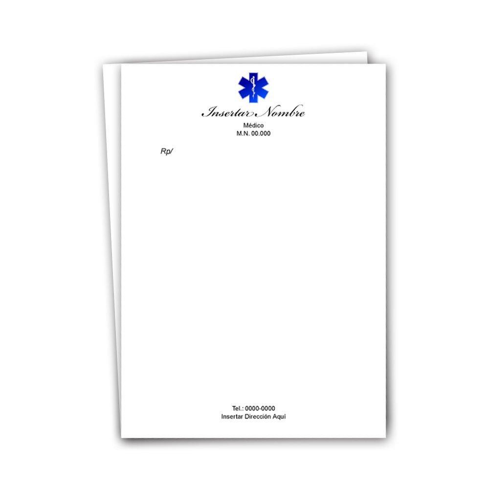 recetarios m u00e9dicos - impresi u00f3n full color