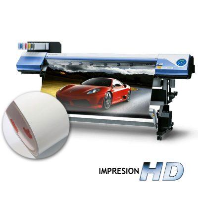 Impresión en vinilo autoadhesivo